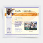 Custom HTML site, created in 2011  |  charliefrankspies.com