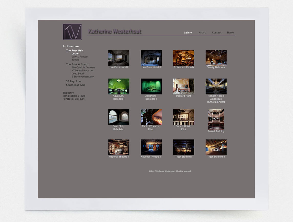 Gallery Page |  Katwest.com